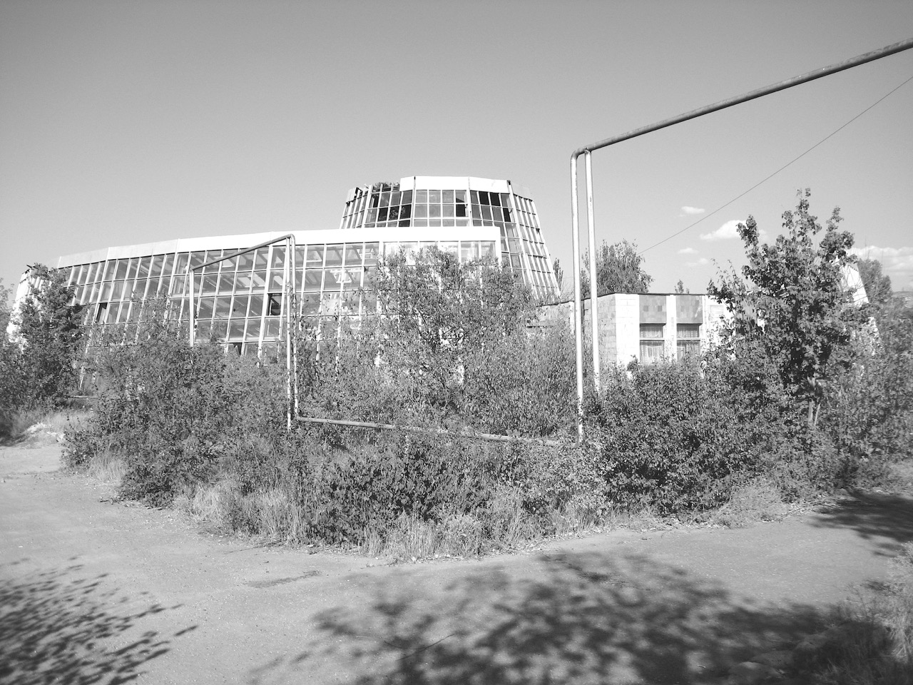 Foto: Botanischer Garten. Aus: Eriwan. Kapitel 5. Aufzeichnungen aus Armenien von Marc Degens.