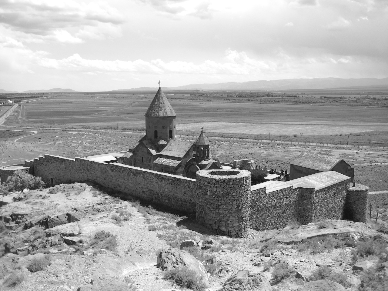 Foto: Kloster Chor Virap. Aus: Eriwan. Kapitel 4. Aufzeichnungen aus Armenien von Marc Degens.