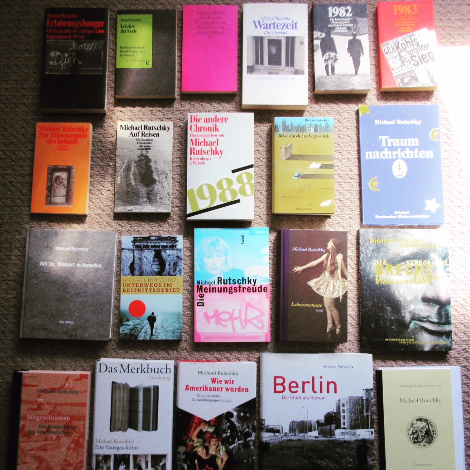 Michael Rutschky: Bücher