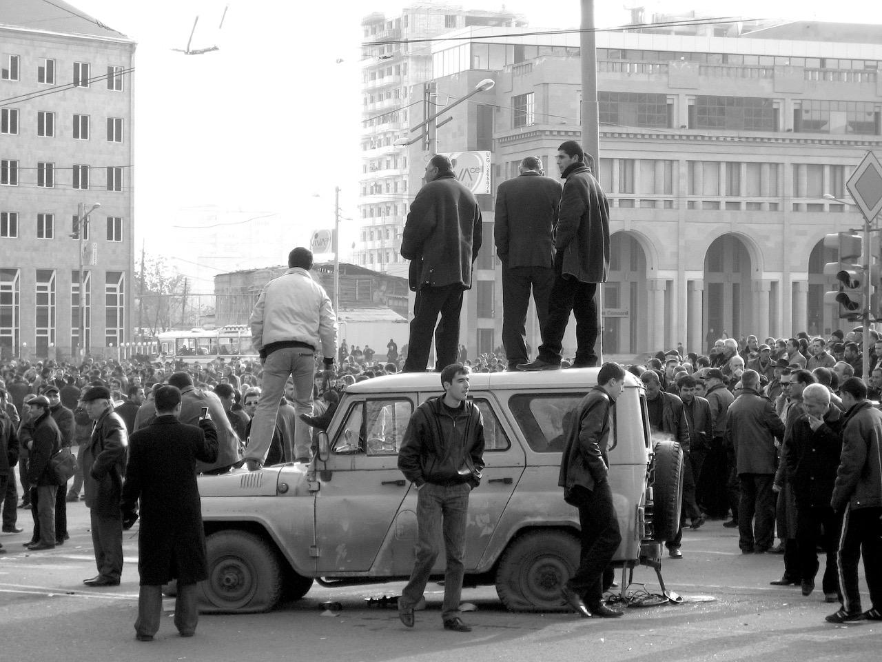 Foto: Überblick. Aus: Eriwan. Kapitel 3. Aufzeichnungen aus Armenien von Marc Degens.